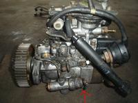 Astra F 1.7dtl - Elektrozaw�r u do�u pompy wtryskowej Bosch
