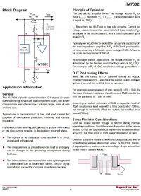 Regulowany wykrywacz / wskaźnik spadku / zaniku poboru prądu