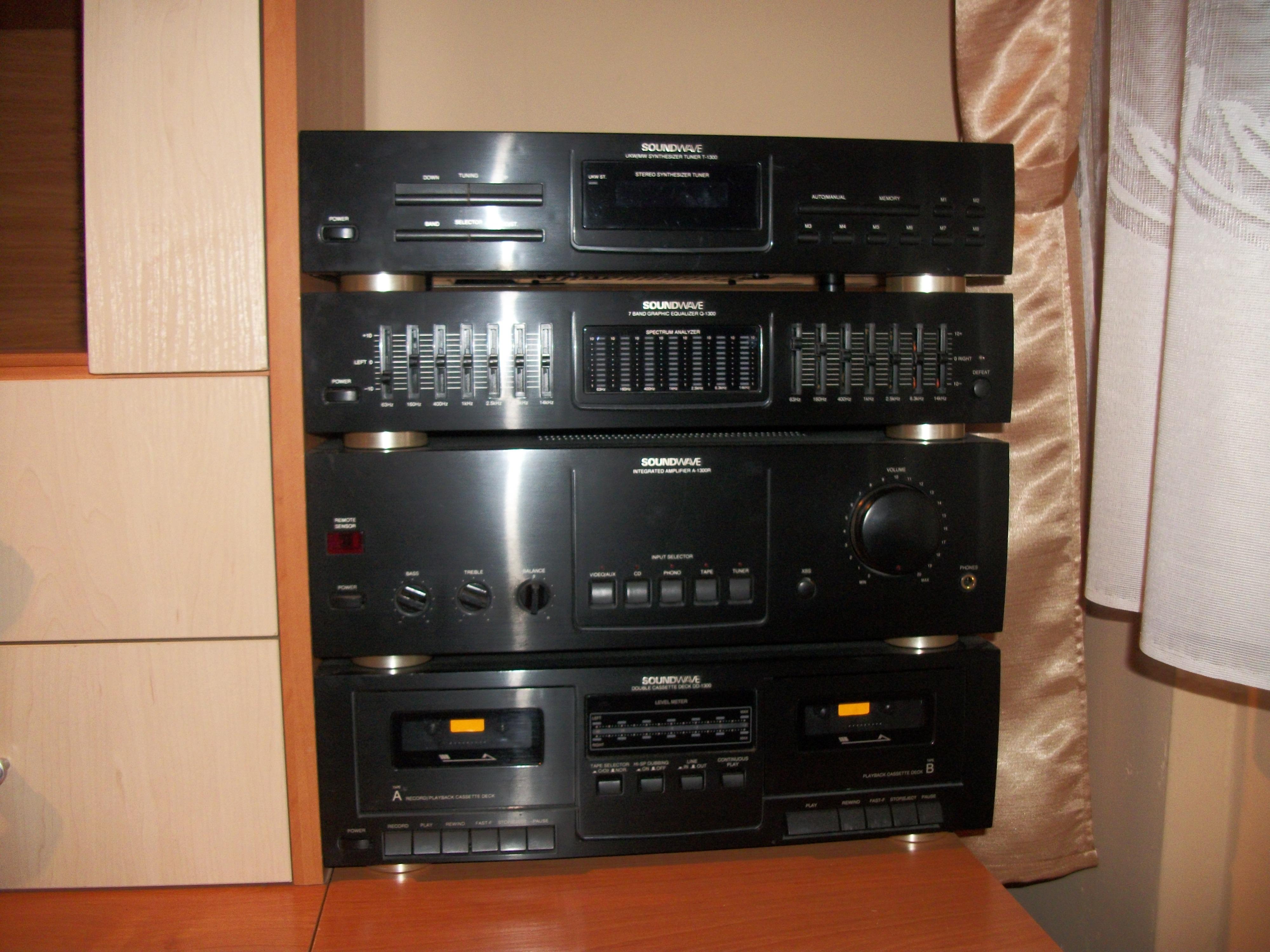 [Sprzedam] Wie�a Soundwave 1300 4 segmentowa ,CD Technics SL-P111 , Kolumny