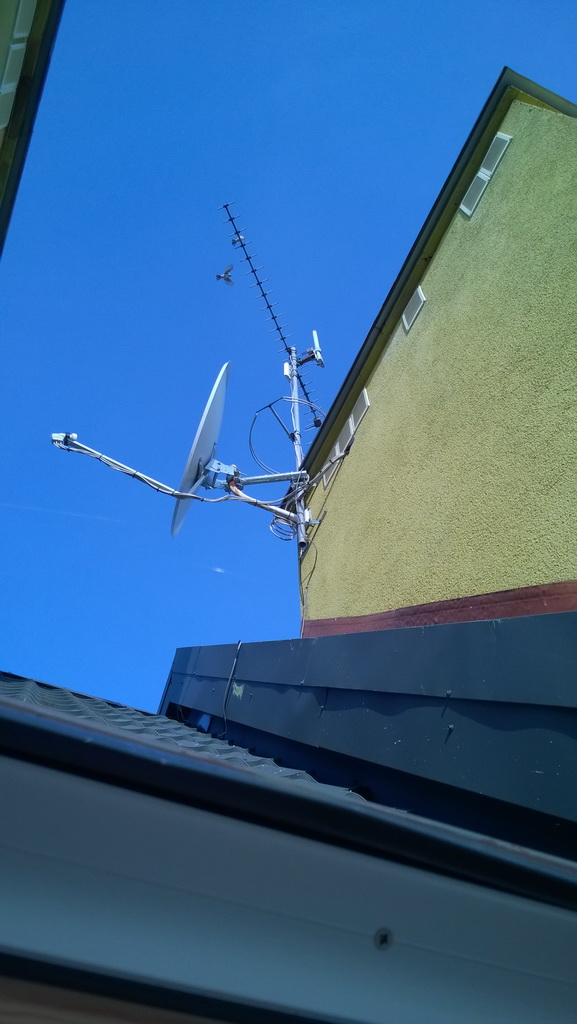 SAT - Jak zainstalowa� drugi konwerter ten sam satelita ?