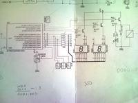 [ATtiny44][C] LM35, 7-segment.
