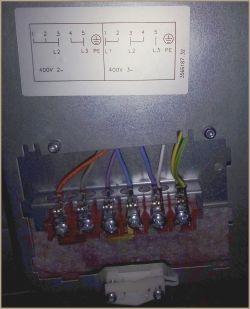 Kuchnia indukcyjna Electrolux EKI6451AOX - podłączenie do zasilania