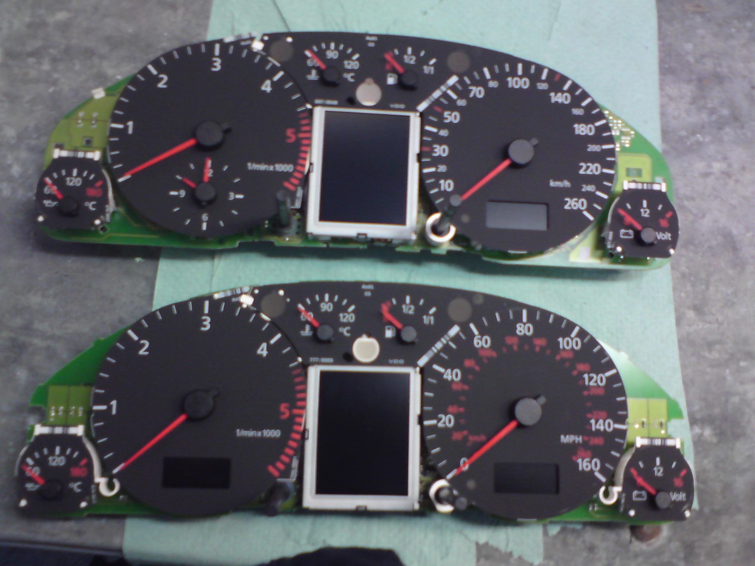 Audi A4 B5uszkodzony Wyświetlacz Fis Wymiana Elektrodapl