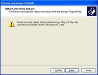 Windows nie wykrywa drukarki HP F4180