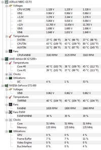ASUS GTS 450 1GB - dziwne zjawiska na ekranie