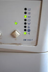 Pralka ELECTROLUX EW1066f - roszyfrowanie błędu