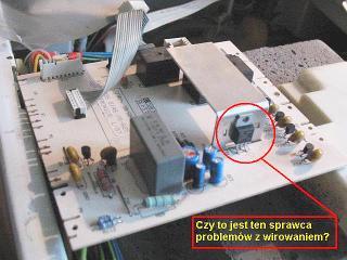 Pralka Candy CBL 100 - nie wiruje z wsadem prania