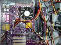 Jak ustawić biosa by działał Radeon 9550