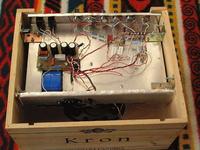 Wzmacniacz gitarowy lampowy na ECL86 i ECC83