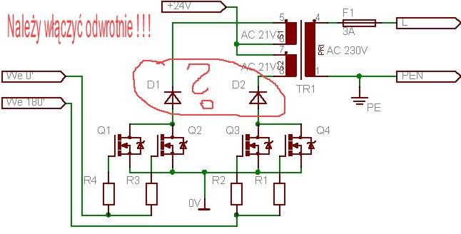 Parametry tranzystora IRF240 - przetwornica napięcia.
