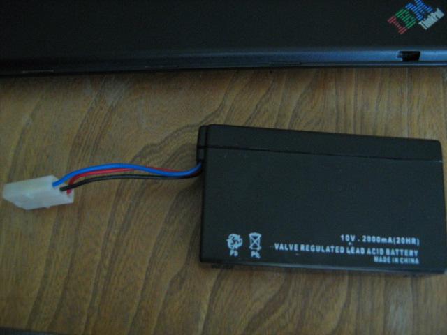 Ładowanie akumulatora 10V