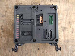 Sharan 98 - moduł komfortu - kodowanie pilota IR