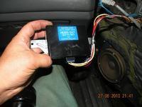 Podłączenie modułu domykania szyb Honda Civic 5d MB2 97'