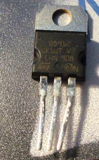 JBL CS 50.4 - pali tranzystory końcowe.