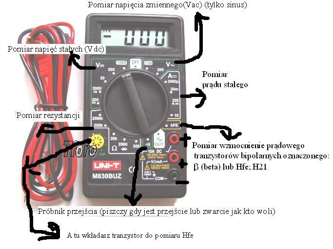 Jak podłączyć multimetr do pomiaru napięcia