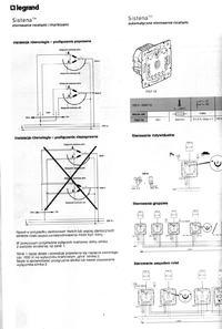 Rolety zewnętrzne 230V, połaczenie równoległe