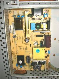Monitor LG L1715S - nie włącza się