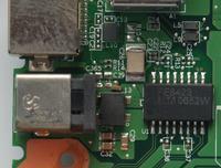Fujitsu Siemens Amilo Pro V3515 - wyrwane gniazdo zasilania