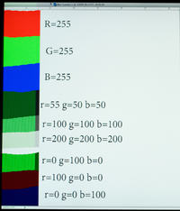 Monitor LaCie 319 Zielone pionowe paski problem z matrycą?