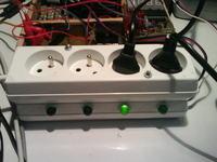 Kontroler usb 64 wyjścia + wysterowanie do 4 urządzeń 230V