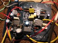 Problem z kolorofonem AVT kit 2742 - brak napięcia na bazie